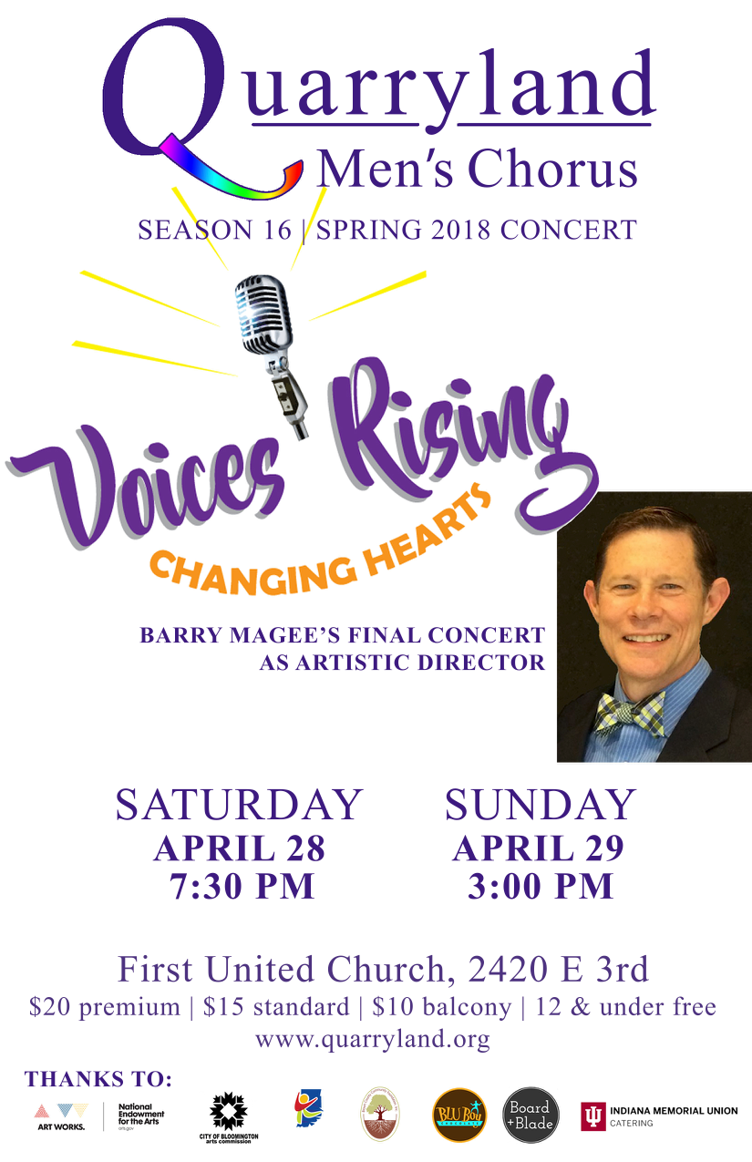 QMC Spring Concert 2018 Voices Rising